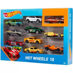 Hw Basic Car 10-Pack Asst Mattel 54886 - Masinuta