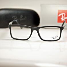 Rama de ochelari de vedere Ray Ban RB 7023 C2 - Rama ochelari Ray Ban, Unisex, Dreptunghiulare, Plastic, Rama intreaga, Fashion