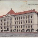 Romania,  Arad carte postala circulata 1911: Casa Invatatorului