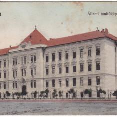 #1835- Romania, Arad carte postala circulata 1911: Casa Invatatorului - Carte Postala Crisana 1904-1918, Fotografie