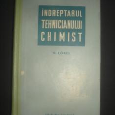 M. LOBEL - INDREPTARUL TEHNICIANULUI CHIMIST