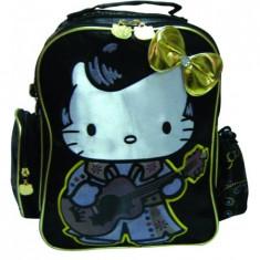 Ghiozdan gradinita Hello Kitty Gold
