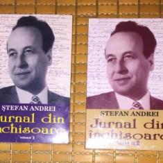 Stefan Andrei JURNAL DIN INCHISOARE 2 volume - Biografie