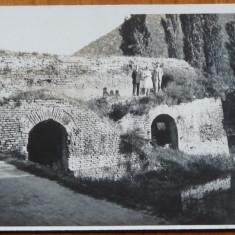 Ada Kaleh, Ruinele cetatii, necirculata, interbelica, tip fotografie - Carte Postala Muntenia 1904-1918