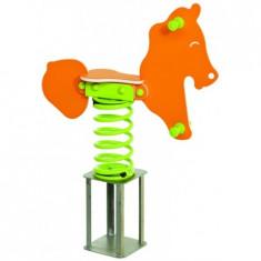 Balansoar pe arcuri SAFARI Horse - Tobogan copii Kbt