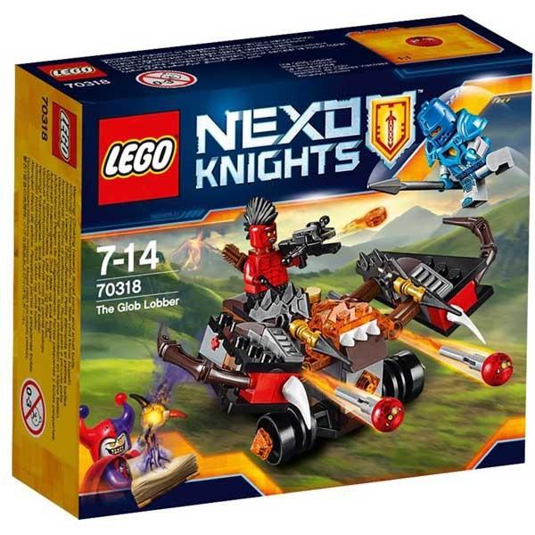 Catapulta 70318 Lego Nexo Knights foto mare