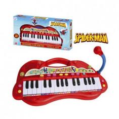 Orga Electronica Cu Microfon Spiderman - Instrumente muzicale copii Reig Musicales