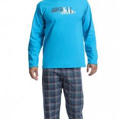 Pijama barbati - Cornette - 124-59 Origin - Pijamale barbati, Marime: S, M, L, Culoare: Albastru