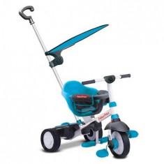 Tricicleta 3 In 1 Charm Plus Albastra - Tricicleta copii Falk