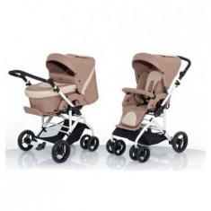 Carucior Torino 6s Beige-Light Beige - Carucior copii 2 in 1 ABC Design