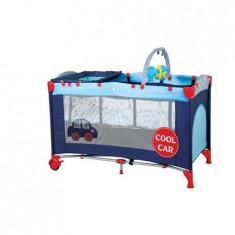 Patut Pliant Cu 2 Nivele Sleepwell Car - Patut pliant bebelusi BabyGo