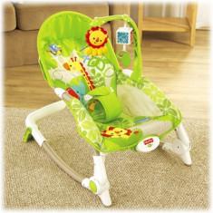 Balansoar 2 In 1 Newborn To Toddler Rainforest Friends - Balansoar interior Fisher Price