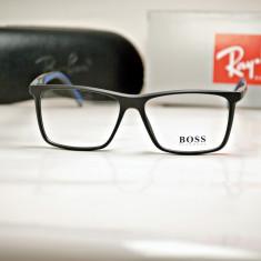 Rama de ochelari de vedere Hugo Boss 0708 C2 - Rama ochelari Hugo Boss, Unisex, Dreptunghiulare, Plastic, Rama intreaga, Fashion