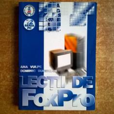 A. Vulpe, D. Bucerzan - Lectii de FoxPro