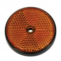 Catadioptru reflectorizant rotund orange BestAutoVest 60mm, 1 buc.