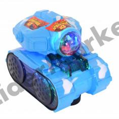 Tanc de jucarie spiderman 4 cu baterii - Figurina Desene animate