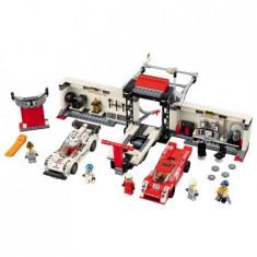 Lego® Speed Champions Porsche 919 Hybrid Și 917k Pit Lane - 75876