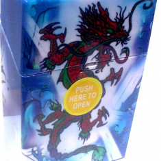 Tabachera clic box Dragon