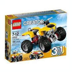 Lego Creator 31022 ATV Turbo Quad set 3-in-1 Motor Vehicol teren curse Original