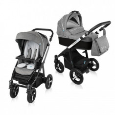 Carucior Multifunctional 2 In 1 Husky Wp 10 Black 2016 - Carucior copii 2 in 1 Baby Design
