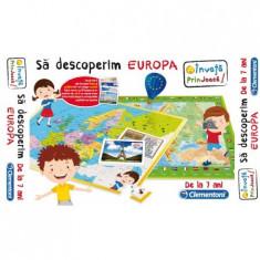 Joc Educativ - Sa Descoperim Europa - Cl60438 Clementoni