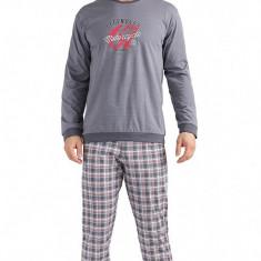 Pijama barbati - Cornette - 115-79 Legend2 - Pijamale barbati, Marime: M, L, Culoare: Gri