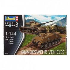 Bundeswehr Vehicles M47 Si Hs30 Si Lkw 5t Gl Emma Rv3351 - Macheta auto Revell