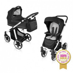 Carucior Multifunctional 2 In 1 Lupo Comfort 10 Black 2016 - Carucior copii 2 in 1 Baby Design