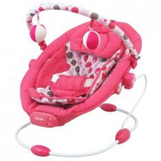 Leagan muzical cu vibratii Grand Confort - roz - Balansoar interior Baby Mix