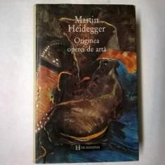Martin Heidegger – Originea operei de arta {Col. Paradigme} - Filosofie