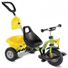 Tricicleta cu maner -2345 - Tricicleta copii Puky