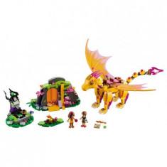 Lego® Elves Pestera Dragonului De Foc - 41175