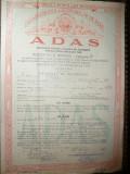 Asigurare ADAS 1962 ,pt.accidente