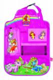 Organizator scaun auto Filly Unicorn pentru spatarul scaunului din fata, 40 x 60 cm, Disney