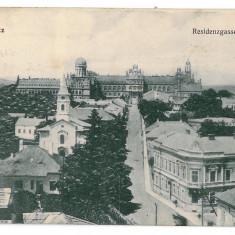 3576 - Bucovina CERNAUTI, Panorama - old postcard - used - 1913 - Carte Postala Bucovina 1904-1918, Circulata, Printata