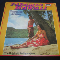 The Original Hilo Hawaiians ‎– Paradies Hawaii_ vinyl(LP) Germania - Muzica Chillout Altele, VINIL