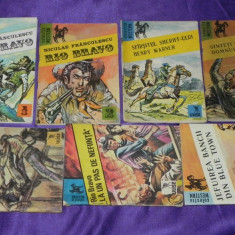 Rio Bravo - vol 1-7 - Niculae Franculescu desene de Sandu Florea (f0292 - Carte de aventura