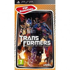 Joc PSP Play Station Portable - TRANSFORMERS REVENGE OF THE FALLEN - Jocuri PSP Ubisoft, 16+