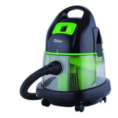 Aspirator cu filtrare prin apa si uscata ZILAN ZLN-8945, 1400W, capacitate recipient apa murdara 8L
