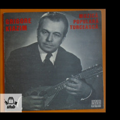 Grigore Kiazim Muzica populara turceasca disc vinil Electrecord LP EPE 01106
