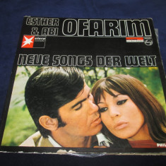 Esther & Abi Ofarim ‎– Neue Songs _ vinyl, LP, Germania - Muzica Pop Altele, VINIL