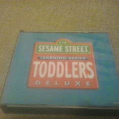 Sesame Street Learning Series TODDLERS Deluxe- PC Software