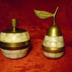 Set casete bronz/sidef, orientale, vintage