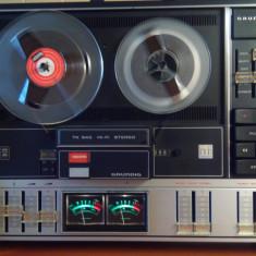 Magnetofon Grundig TK 845 cu 3 viteze, 4 capete model 1974