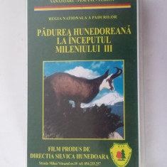 CASETA VIDEO PADUREA HUNEDOREANA LA INCEPUTUL MILENULI III, ALEXANDRU SATMARI - Film documentare, Romana