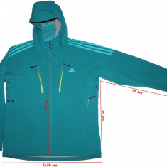 Geaca windstopper softshell Adidas, barbati, marimea 56(XL) - Imbracaminte outdoor, Geci