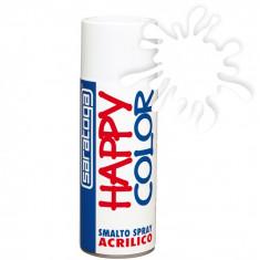 Spray vopsea Transparent Lucios HappyColor Acrilic, 400ml