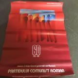 Partidul Comunist Român- afiș- trimit prin posta fara plata cu cardul!