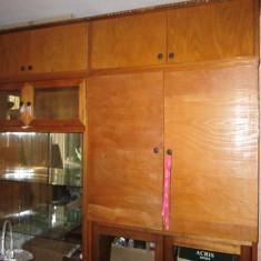 Mobila sufragerie si canapea +2 fotolii. - Set mobila living