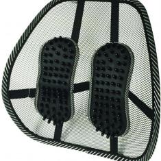 Perna suport lombar scaun masina sau scaun birou cu padele masaj